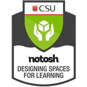 Designing Space for Learning Digital Badge